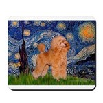 Starry / Poodle (Apricot) Mousepad