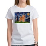Starry / Poodle (Apricot) Women's T-Shirt