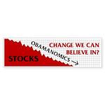 Obamanomics 09 Bumper Sticker (10 pk)
