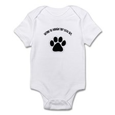 Home Is Where My Dog Is! Infant Bodysuit