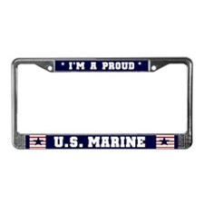 Proud U.S. Marine License Plate Frame