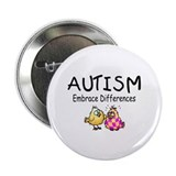 "Embrace Difference 2.25"" Button (10 pack)"