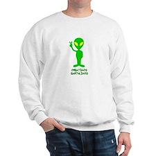 Greetings Earthlings Sweatshirt