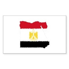 Vintage Egypt Rectangle Sticker 10 pk)