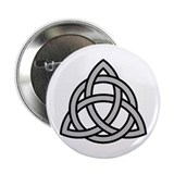 "Triquetra (grey) 2.25"" Button"