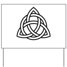 Triquetra Yard Sign