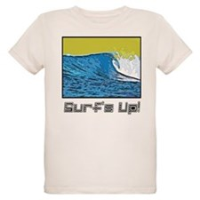 Organic Sunrise Surf Kids T-Shirt