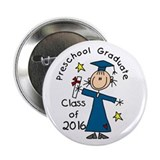 "Girl Pre-K Grad 2013 2.25"" Button (10 pack)"