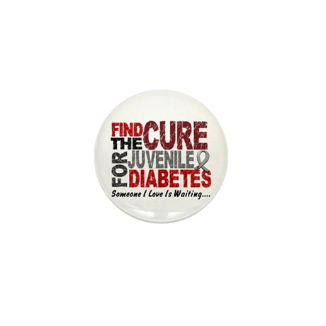 Find The Cure 1 JUV DIABETES Mini Button