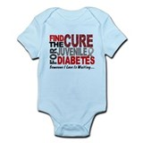 Find The Cure 1 JUV DIABETES Infant Bodysuit