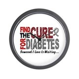 Find The Cure 1 DIABETES Wall Clock