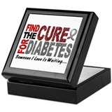 Find The Cure 1 DIABETES Keepsake Box