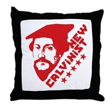 New Calvinist-Comrade Throw Pillow