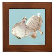 Just Garlic Framed Tile