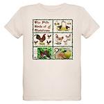 Christmas Birds Organic Kids T-Shirt