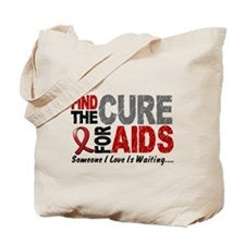 Find The Cure 1 HIV AIDS Tote Bag