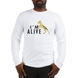 I'm Alive -- Thylacine Long Sleeve T-Shirt