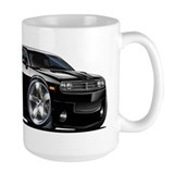 Challenger Black Car  Tasse