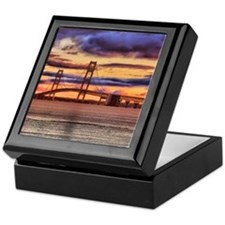 Mackinac Bridge #1157 Keepsake Box