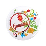 "Wonderful Grandma 3.5"" Button"