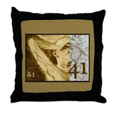 """#41"" Throw Pillow"