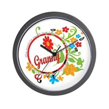 Wonderful Granny Wall Clock