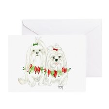 Maltese Christmas Greeting Cards (Pk of 10)