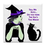 Funny Witchcraft Tile Coaster