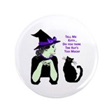 "Funny Witchcraft 3.5"" Button"