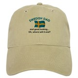 Good Looking Swedish Dad Baseball Cap