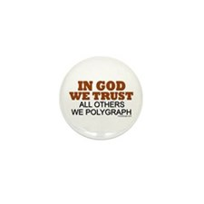In God We Trust Mini Button (10 pack)