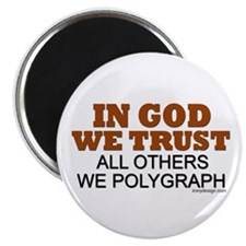 "In God We Trust 2.25"" Magnet (10 pack)"