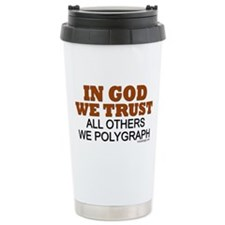 In God We Trust Ceramic Travel Mug