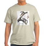 Audubon Red Squirrel (Front) Light T-Shirt