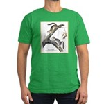 Audubon Red Squirrel (Front) Men's Fitted T-Shirt