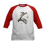 Audubon Red Squirrel (Front) Kids Baseball Jersey
