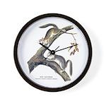 Audubon Red Squirrel Wall Clock
