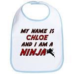 my name is chloe and i am a ninja Bib