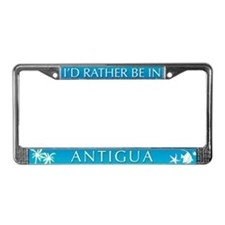 Antigua License Plate Frame
