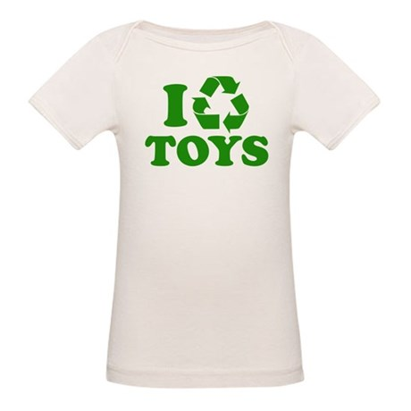 I Recycle Toys Organic Baby T-Shirt