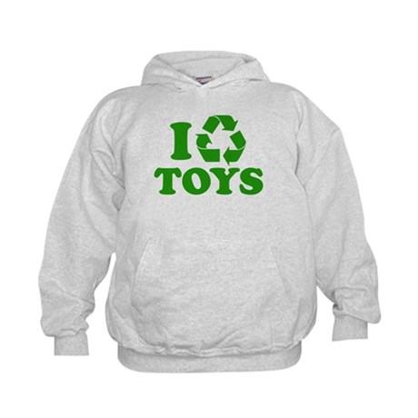 I Recycle Toys Kids Hoodie