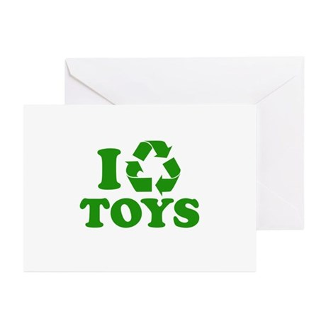 I Recycle Toys Greeting Cards (Pk of 20)