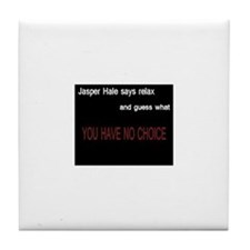 Cute Jasper Tile Coaster