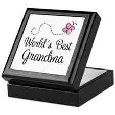 World's Best Grandma Keepsake Box