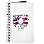 Hand Sign Flag Journal