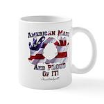 Hand Sign Flag Mug