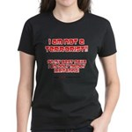 I am NOT a terrorist! Women's Dark T-Shirt