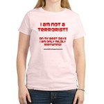 I am NOT a terrorist! Women's Light T-Shirt