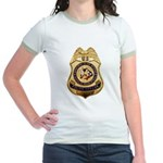 BIA Police Officer Jr. Ringer T-Shirt