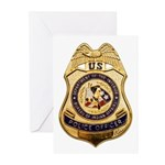 BIA Police Officer Greeting Cards (Pk of 10)